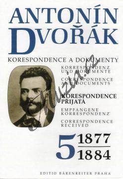 Kuna Milan a kol. | Antonín Dvořák - Korespondence a dokumenty 5 | Kniha - H7760.jpg