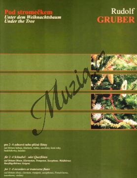Gruber Rudolf | Pod stromečkem (album vánočních koled) | Noty na zobcovou flétnu - H7770.jpg