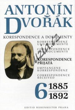 Kuna Milan a kol. | Antonín Dvořák - Korespondence a dokumenty 6 | Kniha - H7771.jpg