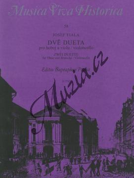 Fiala Josef | Dvě dueta (pro hoboj a violu / violoncello) | Partitura a party - Noty-komorní hudba - H7787.jpg