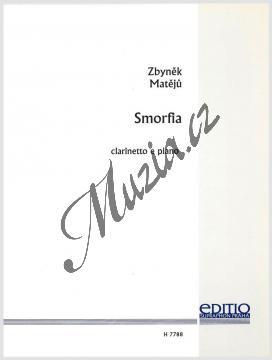 Matějů Zbyněk | Smorfia (Škleb) pro klarinet a klavír | Noty na klarinet - H7788.jpg