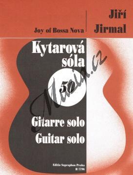 Jirmal Jiří   Joy of Bossa Nova   Noty na kytaru - H7796.jpg