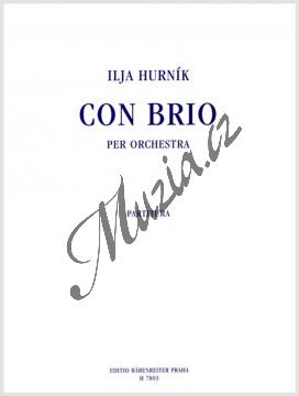 Hurník Ilja | Con brio per orchestra | Partitura - Noty pro orchestr - H7803.jpg