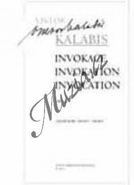 Kalabis Viktor | Invokace op. 90 | Noty na lesní roh - H7804.jpg