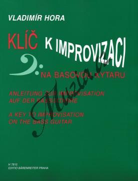 Hora Vladimír | Klíč k improvizaci na basovou kytaru | Noty na basovou kytaru - H7815.jpg