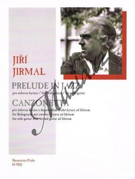 Jirmal Jiří | Prelude in jazz - Canzonetta | Noty na kytaru - H7828.jpg
