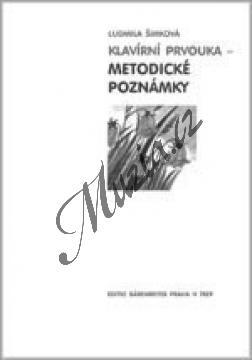 Šimková Ludmila | Klavírní prvouka - Metodické poznámky | Kniha - H7829.jpg