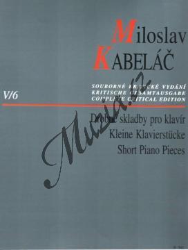 Kabeláč Miloslav   Drobné skladby pro klavír   Noty na klavír - H7842.jpg