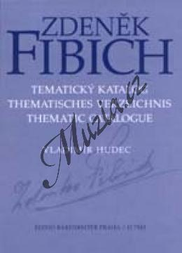 Hudec Vladimír | Zdeněk Fibich - Tematický katalog | Tematický katalog - Kniha - H7843.jpg