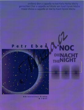 Eben Petr | Noc | Sborová partitura - Noty pro sbor - H7847.jpg