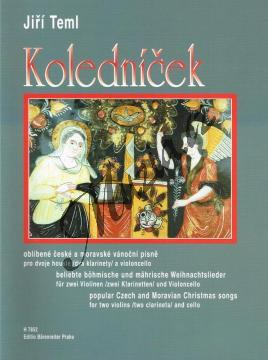 Teml Jiří | Koledníček (oblíbené české a moravské vánoční písně) | Noty pro smyčcové trio - H7852.jpg