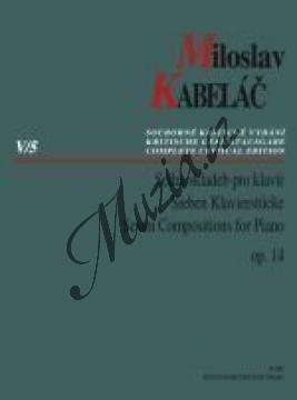 Kabeláč Miloslav | Sedm skladeb pro klavír op. 14 | Noty na klavír - H7857.jpg