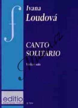 Loudová Ivana | Canto solitario (housle sólo) | Noty na housle - H7859.jpg