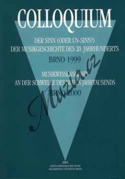 sborník | Colloquium Der Sinn (oder Un-Sinn?) der Musikgeschichte des 20. Jahrhunderts (1999) Musikwissenschaft (2000) | Kniha - H7864.jpg
