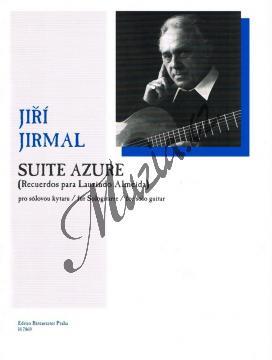 Jirmal Jiří | Suite Azure (Recuerdos para Laurindo Almeida) pro sólovou kytaru | Noty na kytaru - H7869.jpg