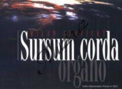 Slavický Milan | Sursum corda | Noty na varhany - H7873.jpg