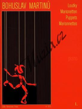 Martinů Bohuslav | Loutky - 1. díl - Malé skladby pro klavír | Noty na klavír - H7875.jpg