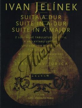 Jelínek Ivan | Suita A dur | Noty na kytaru - H7879.jpg