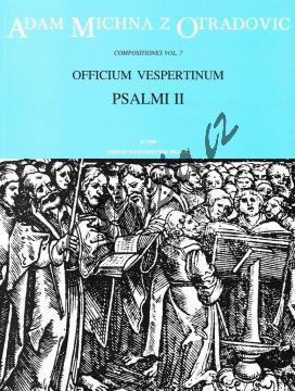 Michna Adam z Otradovic | Officium vespertinum - pars II: Psalmi II | Partitura - Noty pro sbor - H7880.jpg