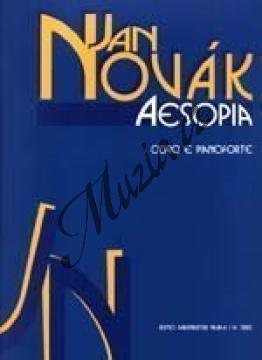 Novák Jan   Aesopia (VI Phaedri fabellae cantatae atque saltatae cum prologo et epilogo)   Partitura - Noty pro sbor - H7882.jpg
