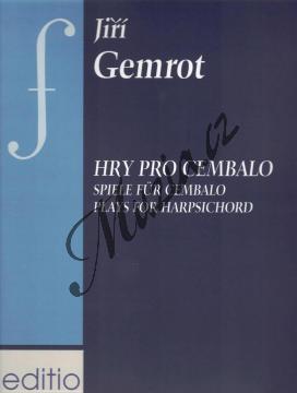Gemrot Jiří | Hry pro cembalo | Noty na cembalo - H7896.jpg