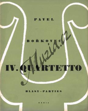 Bořkovec Pavel | Smyčcový kvartet č. 4 | Set partů - Noty pro smyčcový kvartet - H79.jpg