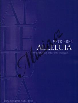Eben Petr | Alleluia | Partitura - Noty pro sbor - H7900.jpg