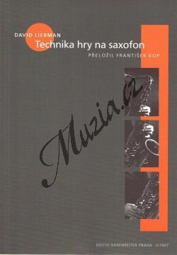 Liebman David | Technika hry na saxofon | Hudební teorie - H7907.jpg
