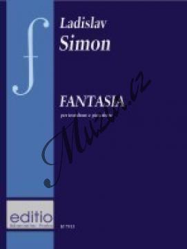 Simon Ladislav | Fantasia per trombone e pianoforte | Noty na trombón - H7913.jpg
