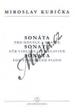 Kubička Miroslav   Sonáta pro housle a klavír   Noty na housle - H7916.jpg