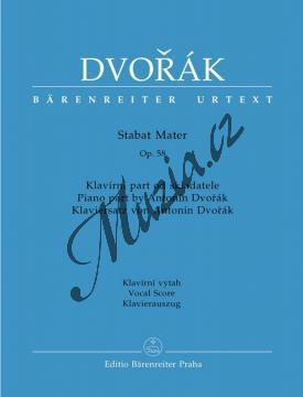 Dvořák Antonín | Stabat Mater | Klavírní výtah - Noty pro sbor - H7920.jpg