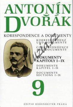 Kuna Milan | Antonín Dvořák - Korespondence a dokumenty 9 | Kniha - H7921.jpg