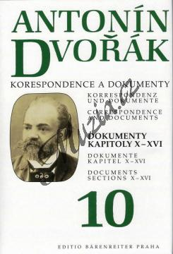 Kuna Milan | Antonín Dvořák - Korespondence a dokumenty 10 | Kniha - H7922.jpg