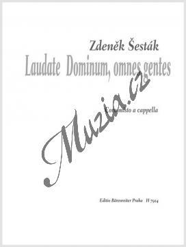 Šesták Zdeněk | Laudate Dominum omnes gentes | Noty pro sbor - H7924.jpg