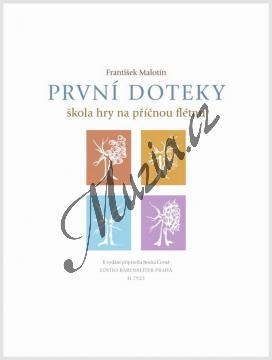 Malotín František | První doteky - učebnice (škola hry na příčnou flétnu) | Noty na příčnou flétnu - H7925.jpg