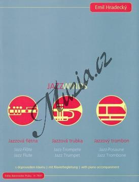 Hradecký Emil | Jazz Winds - s doprovodem klavíru (+CD) | Partitura a party - Noty na trubku - H7931ncd.jpg