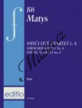 Matys Jiří | Smyčcový kvartet č. 6 | Set partů - Noty pro smyčcový kvartet - H7944a.jpg