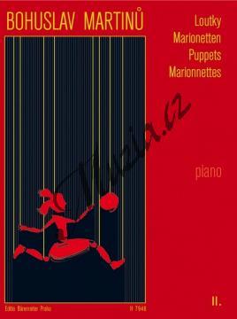 Martinů Bohuslav | Loutky - 2. díl - Malé skladby pro klavír | Noty na klavír - H7946.jpg