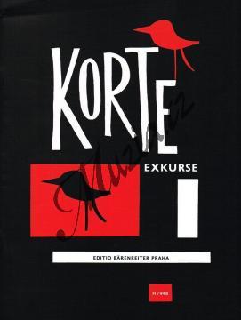 Korte Oldřich František | Exkurse - Cyklus instruktivních skladeb pro klavír | Noty na klavír - H7948.jpg
