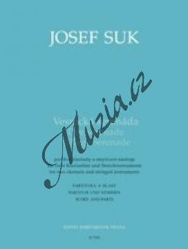 Suk Josef | Vesnická serenáda | Partitura a party - Noty-komorní hudba - H7952.jpg