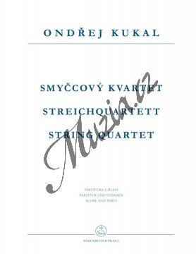Kukal Ondřej   Smyčcový kvartet   Noty pro smyčcový kvartet - H7958.jpg