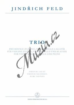 Feld Jindřich | Trio pro housle (flétnu), violoncello a klavír | Partitura a party - Noty pro klavírní trio - H7962.jpg