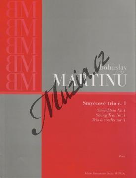 Martinů Bohuslav | Smyčcové trio č. 1 | Set partů - Noty pro smyčcové trio - H7965a.jpg