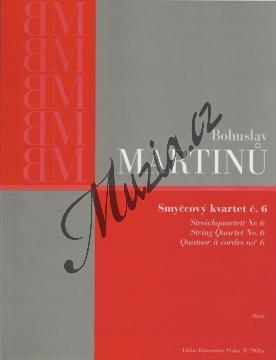 Martinů Bohuslav | Smyčcový kvartet č. 6 | Set partů - Noty pro smyčcový kvartet - H7968a.jpg