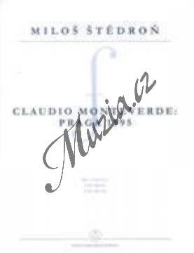 Štědroň Miloš | Claudio Monteverde: Praga 1595 | Noty na varhany - H7969.jpg