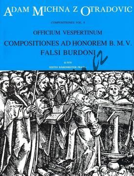 Michna Adam z Otradovic | Officium vespertinum - pars III - Compositiones ad honorem B. M. V. | Partitura - Noty pro sbor - H7979.jpg