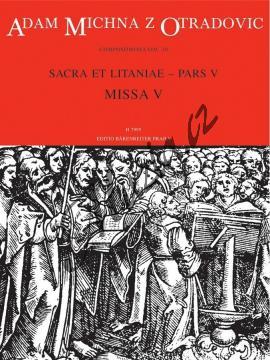 Michna Adam z Otradovic | Sacra et litaniae - pars V: Missa 5 | Partitura - Noty pro sbor - H7995.jpg