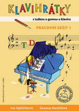 Oplištilová Iva, Hančilová Zuzana | Klavihrátky 1 - pracovní sešit - S tužkou a gumou u klavíru | Noty na klavír - H8003.jpg