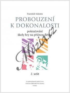 Malotín František | Probouzení k dokonalosti - učebnice 2. sešit (škola hry na příčnou flétnu) | Noty na příčnou flétnu - H8007.jpg