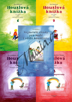 Bublová Eva | Houslová knížka - sešity 1-2-3-3b-4 | Noty na housle - H8008-SET.png